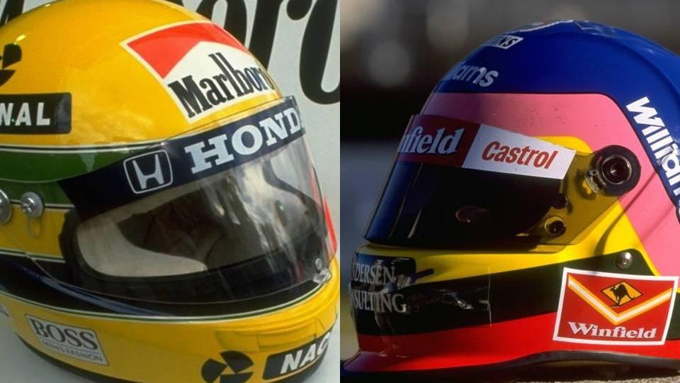 A FIA proibiu os pilotos da F-1 de mudarem o visual dos capacetes durante a temporada; relembre nesta galeria os usados por campeões do passado