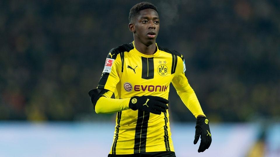 O nome que mais deslanchou da lista. Ousmane Dembélé foi contratado pelo Borussia Dortmund junto ao Rennes nesta temporada e tem brilhado