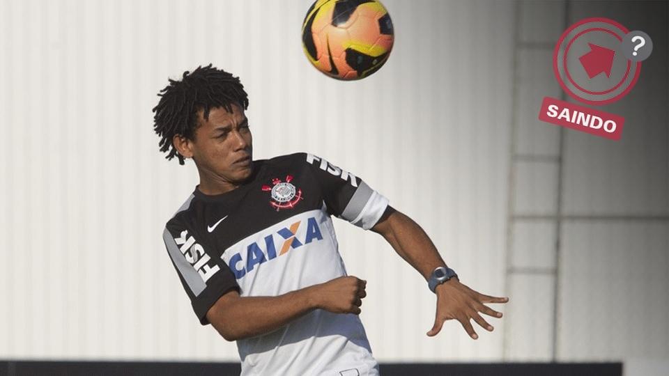 Romarinho também já foi mais querido pela torcida; o atacante pode fechar com o Santos
