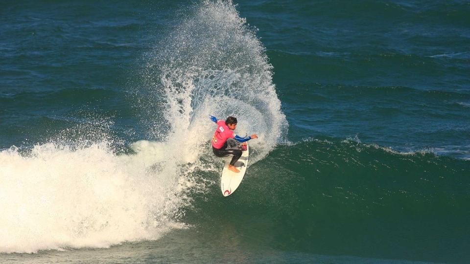 Na final, o jovem talento venceu o catarinense Neco Padaratz, na Praia Mole.