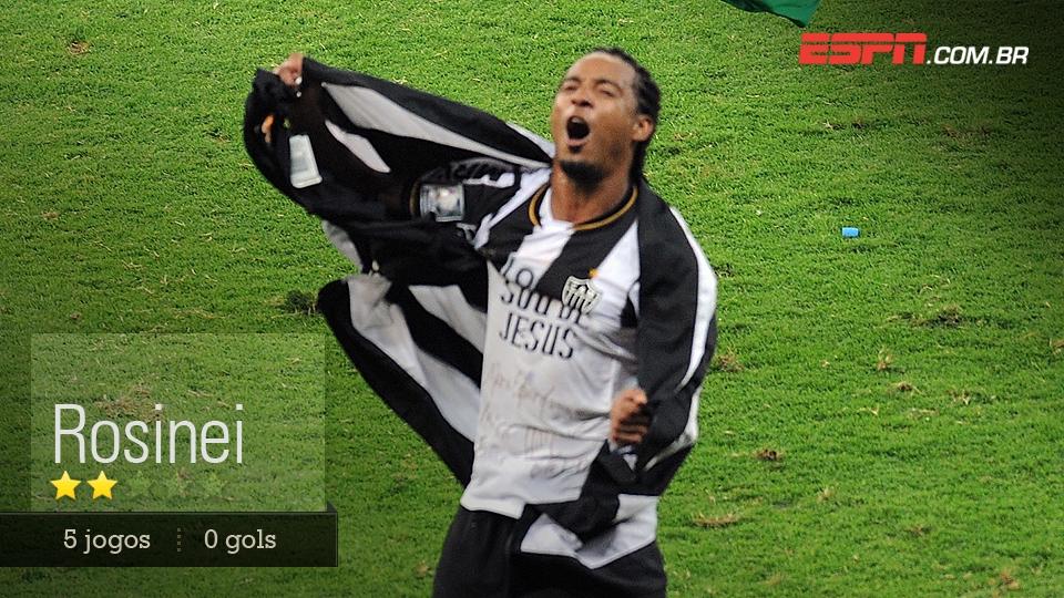 Sofreu expulsão boba contra o São Paulo, mas foi um reserva útil
