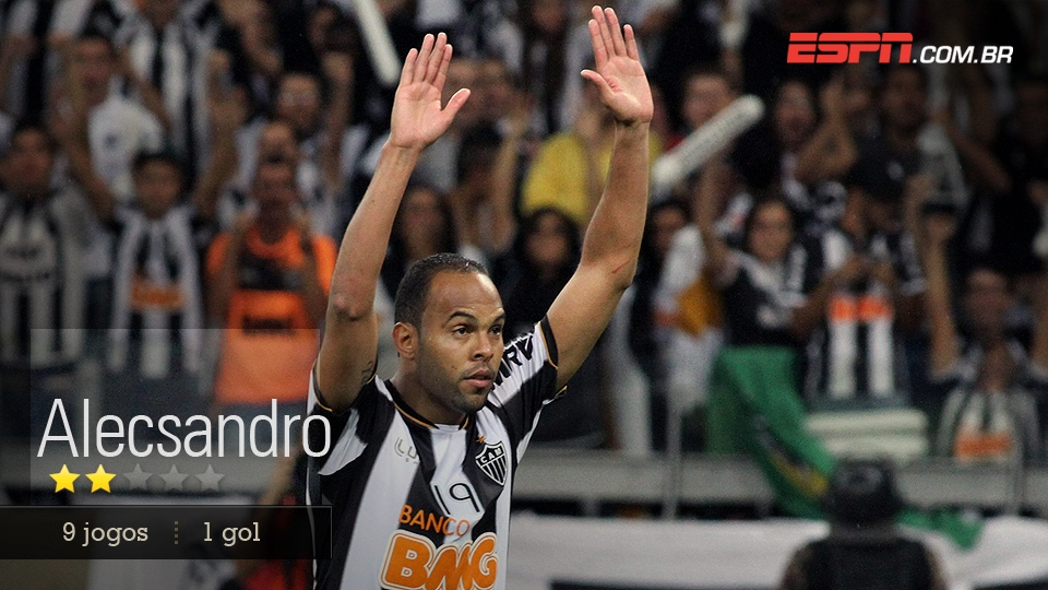 Marcou golaço contra o Arsenal de Sarandí e conseguiu expulsão providencial na final. Não pode ficar marcado pelo lance do 2 a 0 do Olimpia