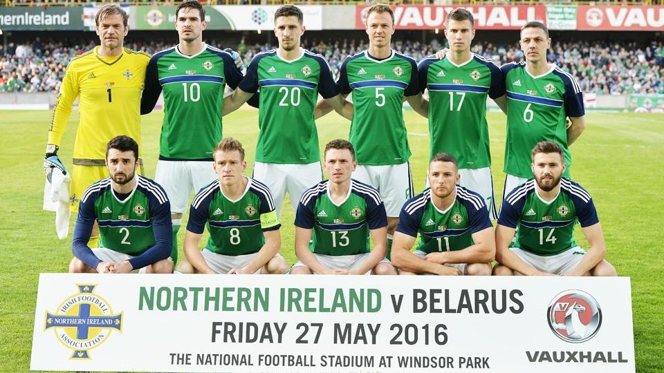 TIME COM MAIS ATLETAS ACIMA DOS 35 ANOS: Irlanda do Norte, 3