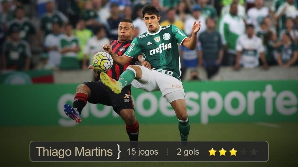 Quando substituiu Vítor Hugo e Yerry Mina, teve boas atuações. Ainda ajudou marcando 2 gols