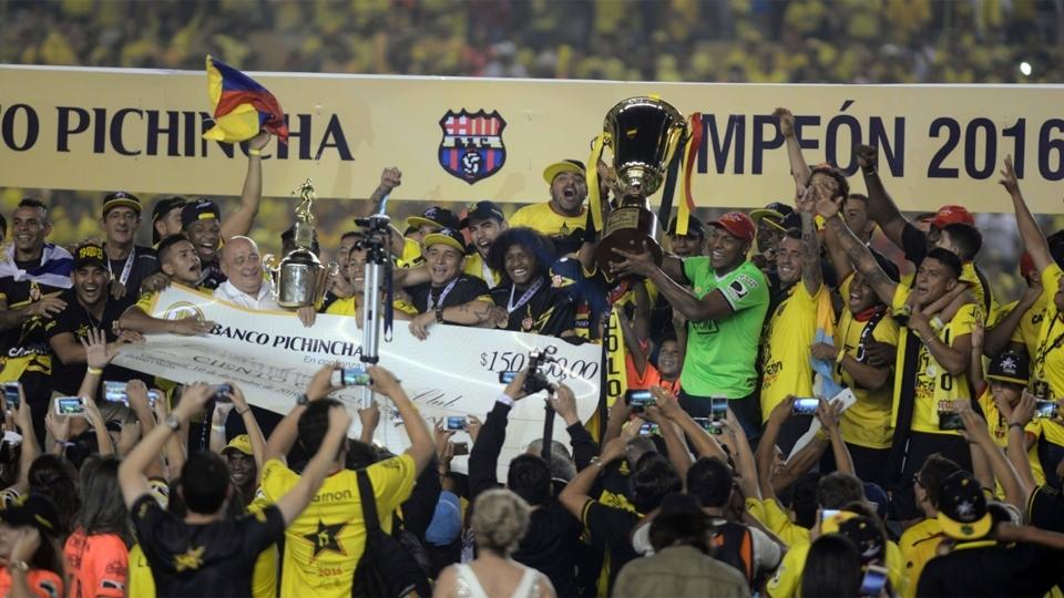 FASE DE GRUPOS: Barcelona, Equador - campeão equatoriano