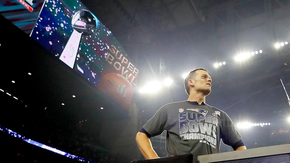 O 'cara' dos Patriots: Tom Brady, vencedor do Super Bowl LI