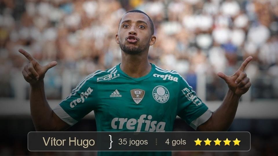 Um monstro na defesa. Só ficou fora de 2 partidas em todo o Brasileirão, graças às suas atuações seguras e desarmes sempre na bola. Ainda fez 4 gols