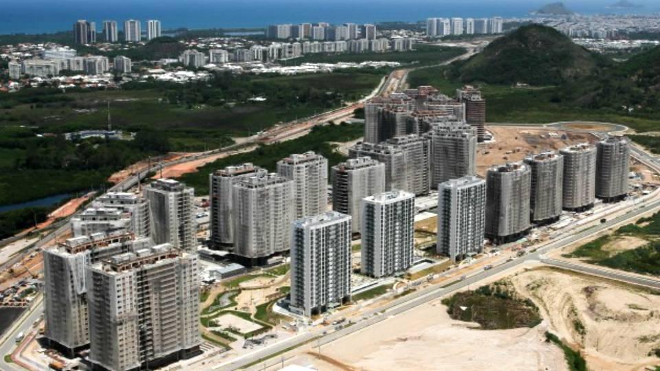 Com 75% das obras concluídas, Vila Olímpica terá 31 prédios para os atletas e delegações e poderá receber até 18 mil pessoas