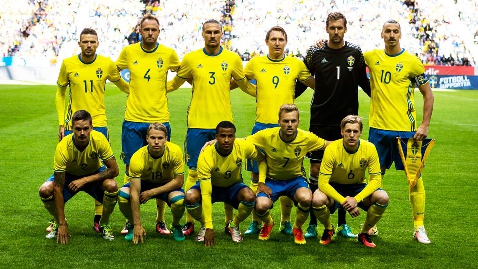 TIME MAIS ALTO: Suécia, 1,86m em média