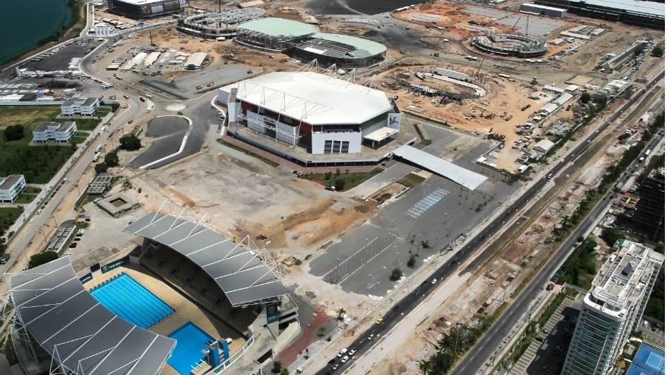 HSBC Arena e Centro Aquático Maria Lenk, instalações já existentes, farão parte do Parque Olímpico de 2016