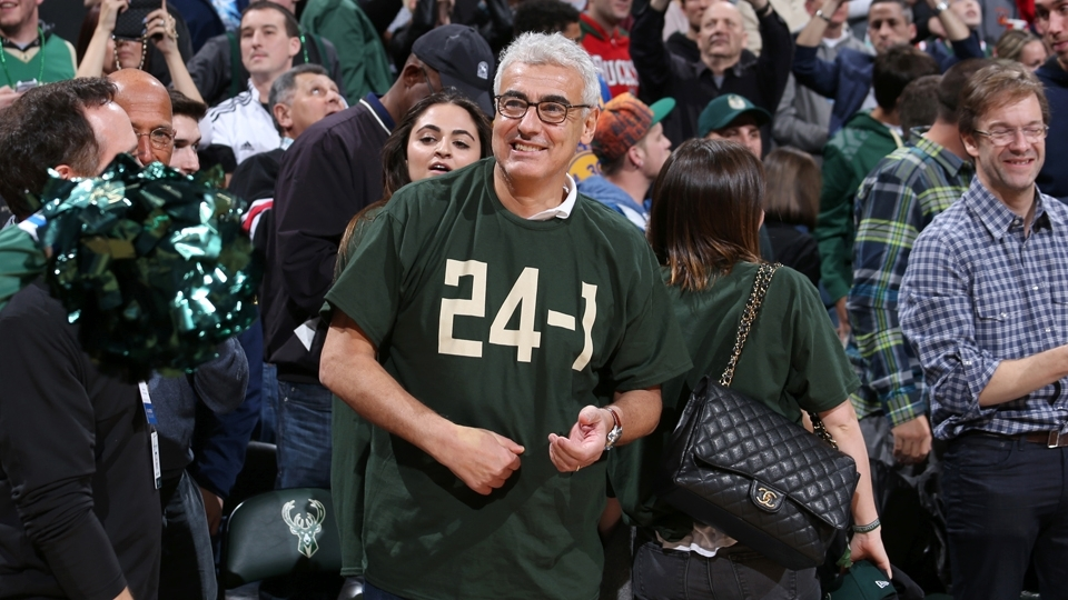 Marc Lasry é o dono do Milwaukee Bucks e jogará pela segunda vez