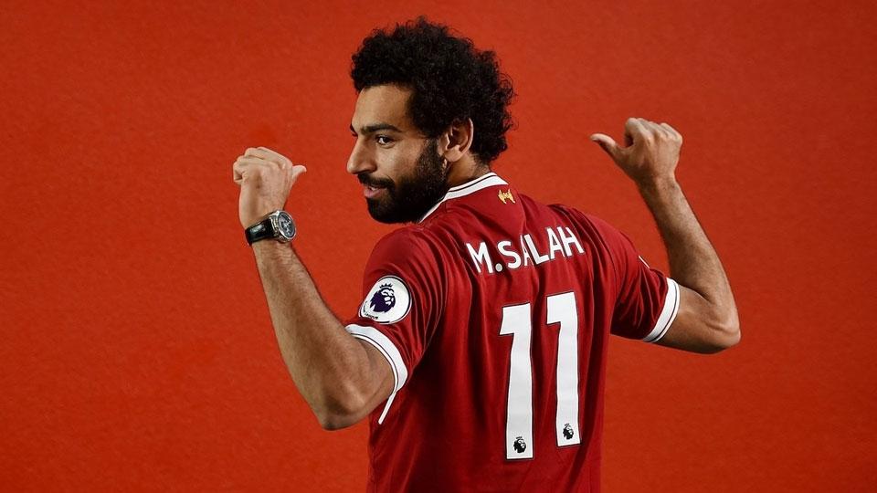 12º - Salah  (42 milhões de euros, R$ 156,42 milhões): será o camisa 11 do Liverpool