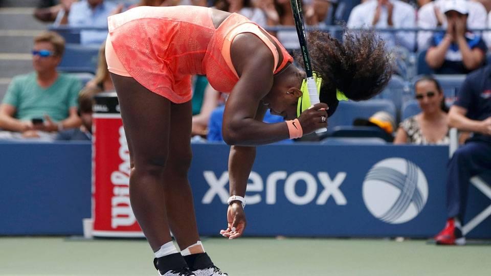 Serena Williams caiu Roberta Vinci no US Open deste ano e perdeu a chance de completar seu primeiro Grand Slam