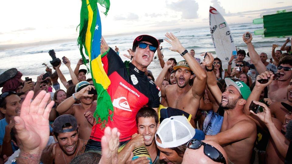 Da Gold Coast Australiana, Medina comemorou sua primeira vitória do ano.