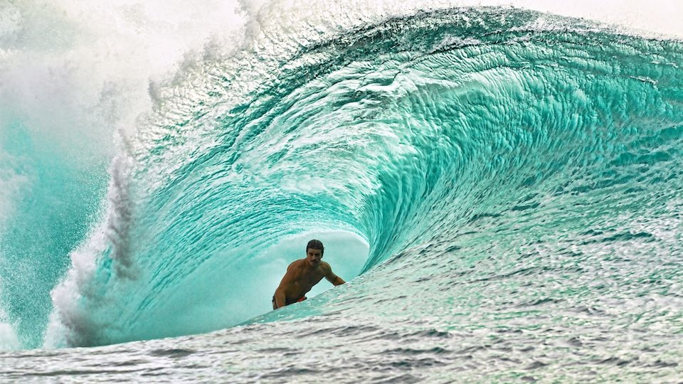 Em Pipeline, Ricadinho surfou como se estivesse nascido na ilha havaiana.