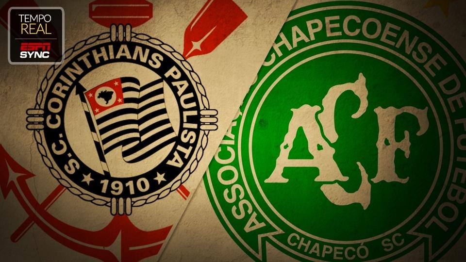 Resultado de imagem para Corinthians x Chapecoense