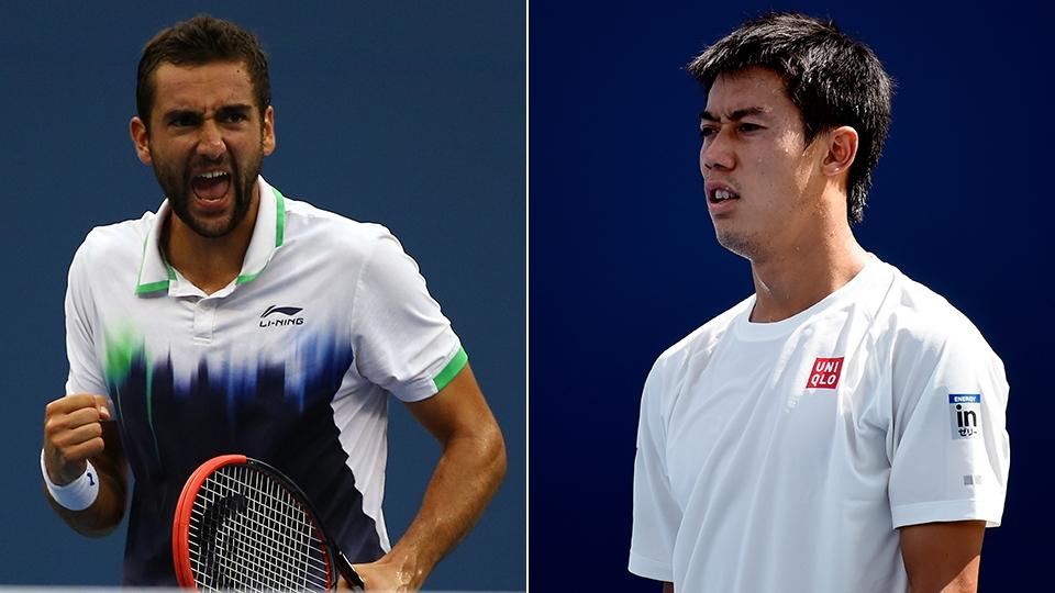 Marin Cilic e Kei Nishikori fizeram uma das finais mais alternativas da história do US Open em 2014. Cilic ficou com a taça