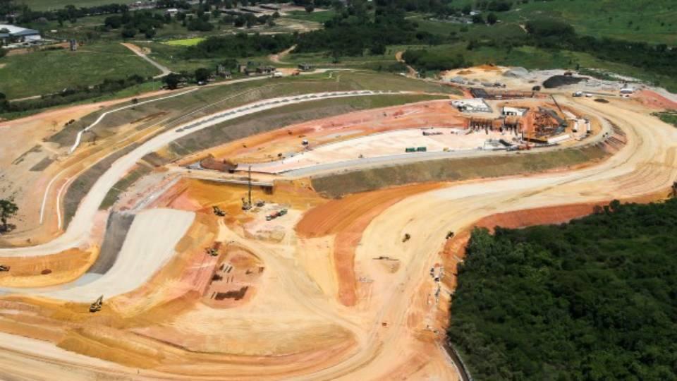 Polêmica atrasou o início da construção do Estádio de Canoagem Slalom, em Deodoro, mas obra está em andamento