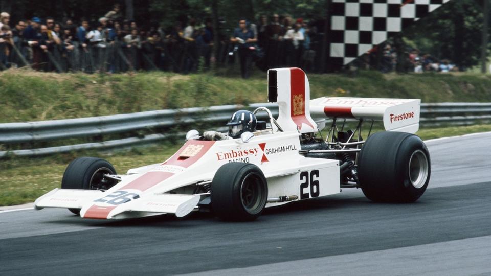 Graham Hill (pai), 2 títulos, 14 vitórias, 13 poles