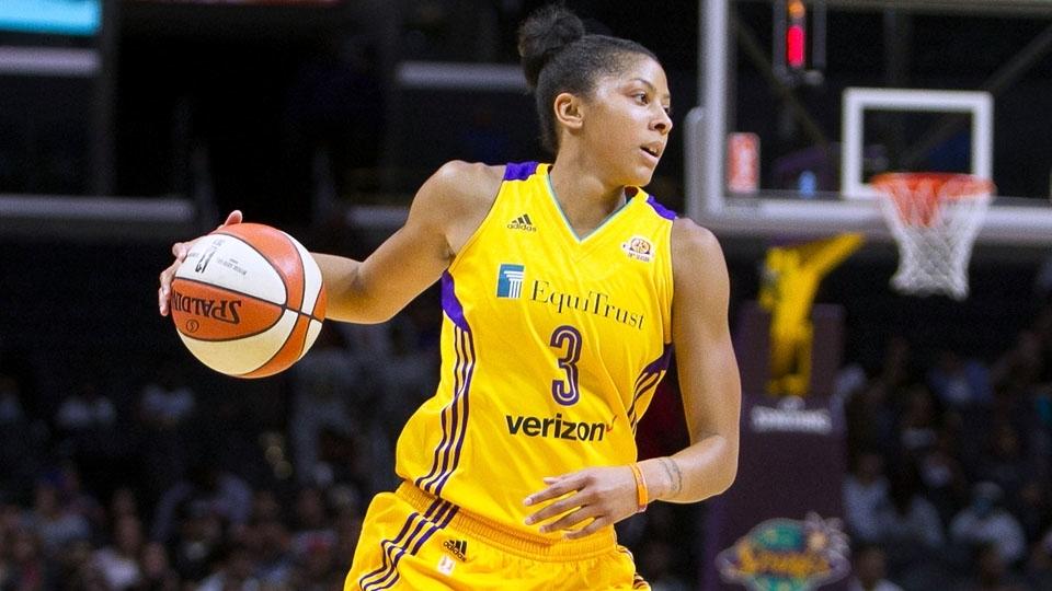 Candace Parker é estrela da WNBA, bicampeã e duas vezes MVP da liga