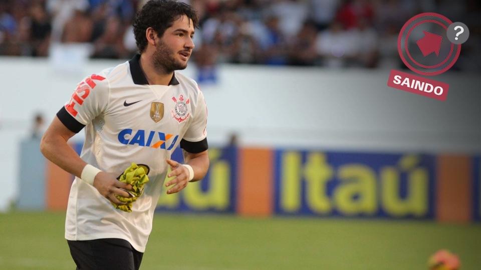 Alexandre Pato foi o artilheiro do Corinthians na temporada, mas nunca caiu nas graças da torcida e pode deixar o clube