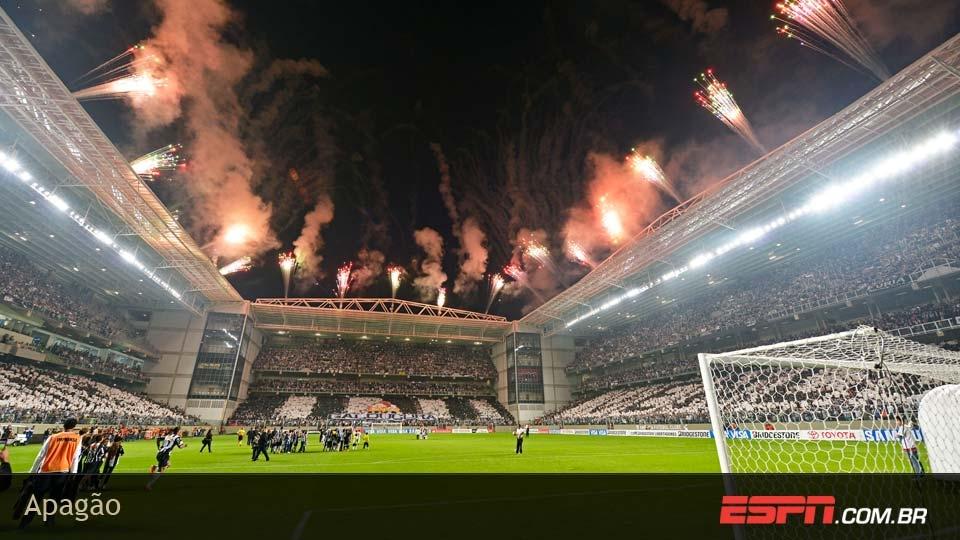 Apagão no Independência na semifinal contra o Newell's ajudou o Galo