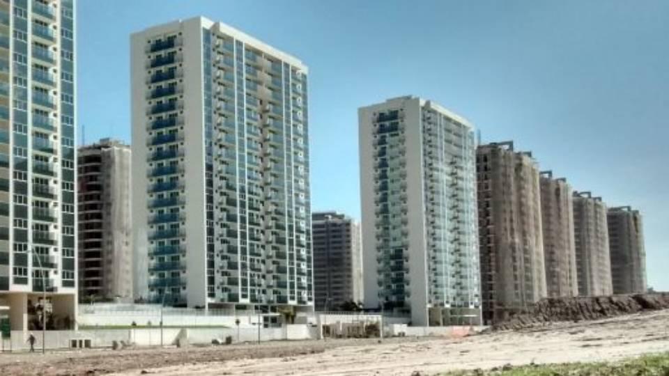 Vila Olímpica fica localizada praticamente ao lado do Parque Olímpico da Barra