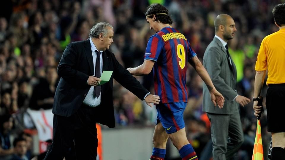 """""""Eu entreva em uma sala e ele (Guardiola) saia. Ele cumprimentava todo mundo, mas me ignorava"""""""