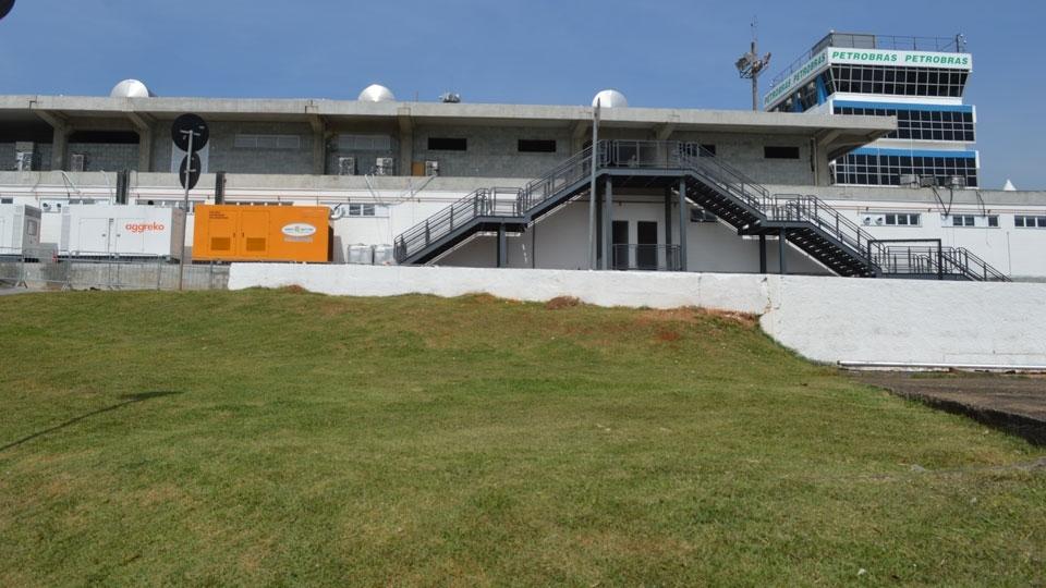 Área VIP para as equipes só estará pronta em 2016