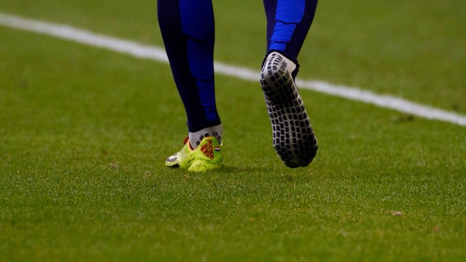 Robben perdeu o pé direito da chuteira