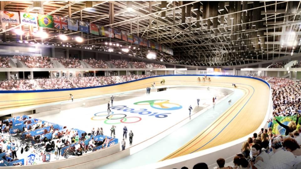 Com capacidade para 5.800 pessoas, Velódromo Olímpico vai receber ciclismo e paraciclismo de pista