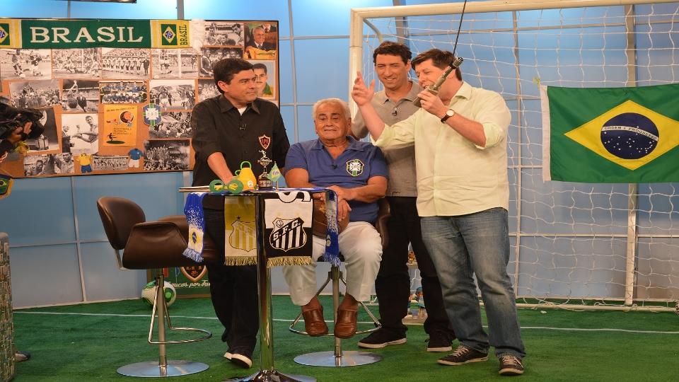 Em 2014, Zito foi convidado do Loucos por Futebol, da ESPN Brasil