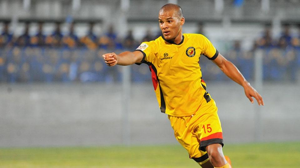 O atacante sul-africano Fagrie Lakay começou no Santos, da África do Sul, e se transferiu ao SuperSport United em 2015