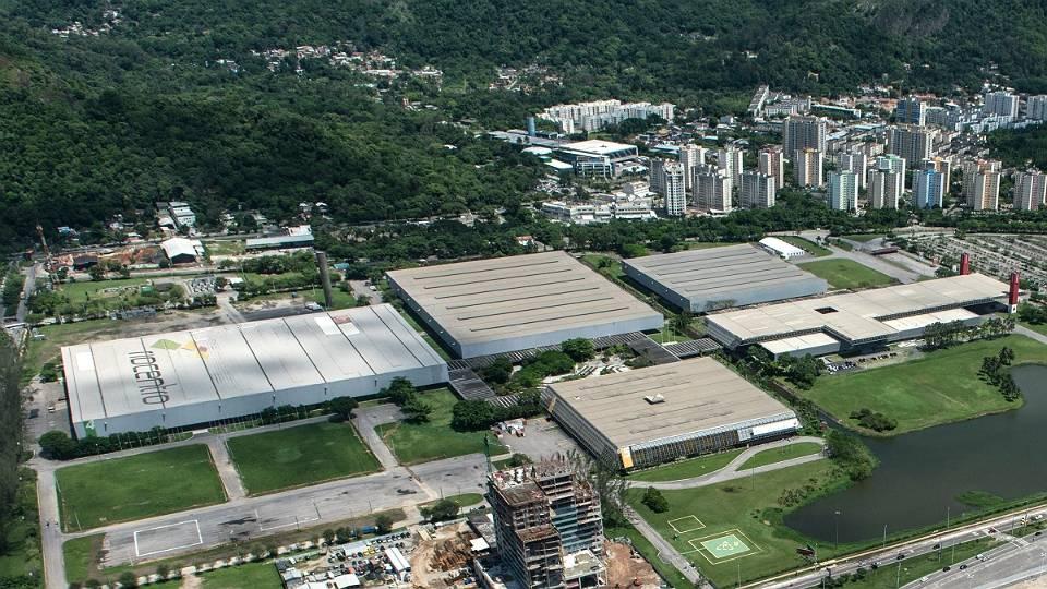 O Riocentro vai ter estruturas temporárias em seus quatro pavilhões para as disputas de boxe, tênis de mesa, badminton e levantamento de peso