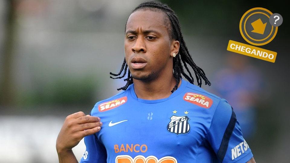 Arouca pode ser negociado com o rival Corinthians e deixar o Santos