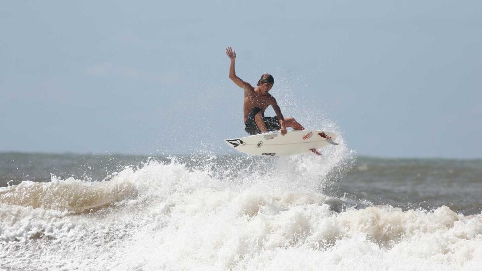 Em 2007, os novos talentos do surf brasileiro participaram de um surf camp em Itacaré, Bahia.
