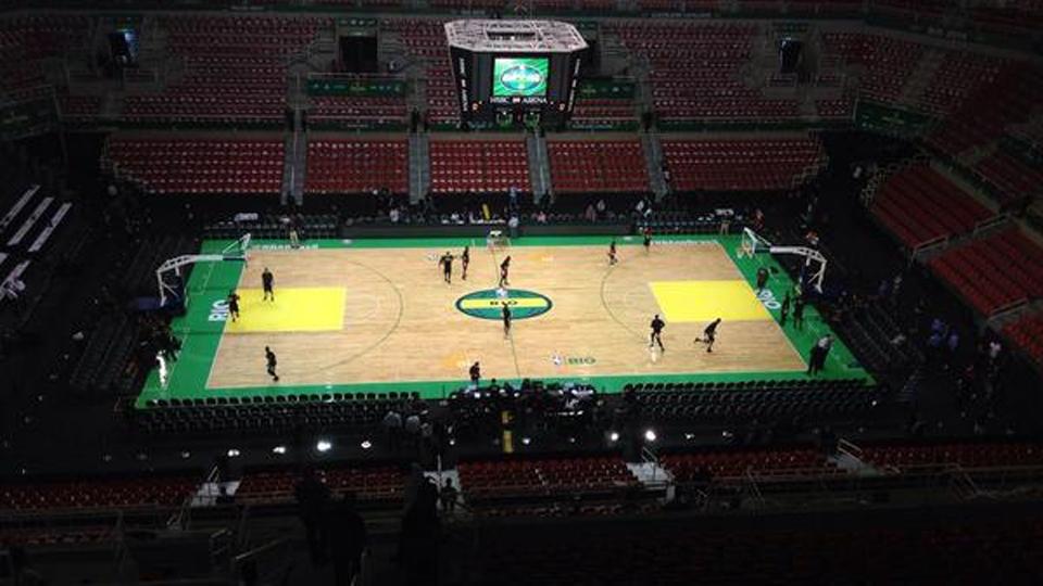 A HSBC Arena, que já recebeu jogos da NBA, será chamada de Arena Olímpica do Rio e vai abrigar as provas de ginástica
