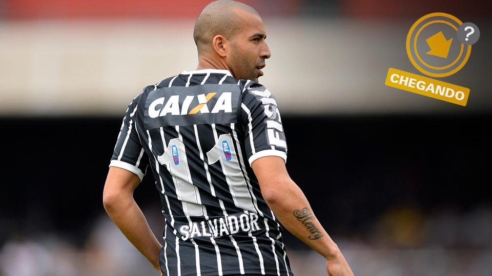 Emerson Sheik caiu de rendimento e não deve continuar no Corinthians. Retorno ao Flamengo é possibilidade