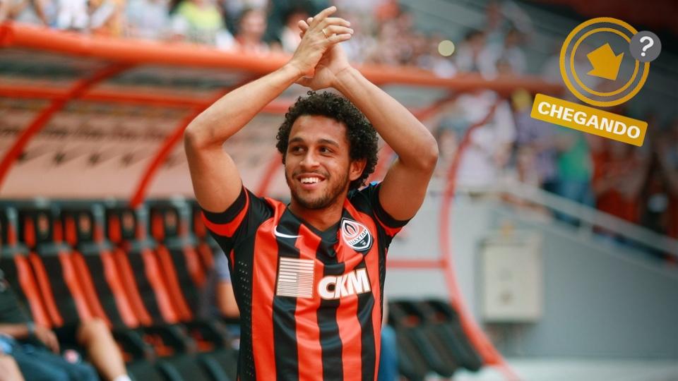Wellington Nem está 'encostado' no Shakhtar Donetsk. O antigo destaque do Fluminense pode ser outra peça de velocidade no ataque do Corinthians