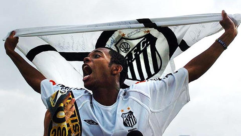 7 - ROBINHO, Santos (2004): 6,51 em 37 jogos