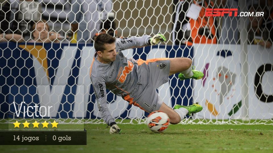 Fez a defesa mais importante da história do Atlético contra o Tijuana e voltou a brilhar diante do Newell's e na final
