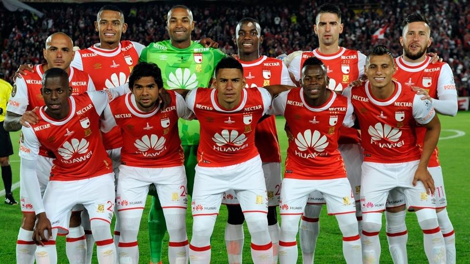 FASE DE GRUPOS: Santa Fé, Colômbia - campeão do Finalización colombiano