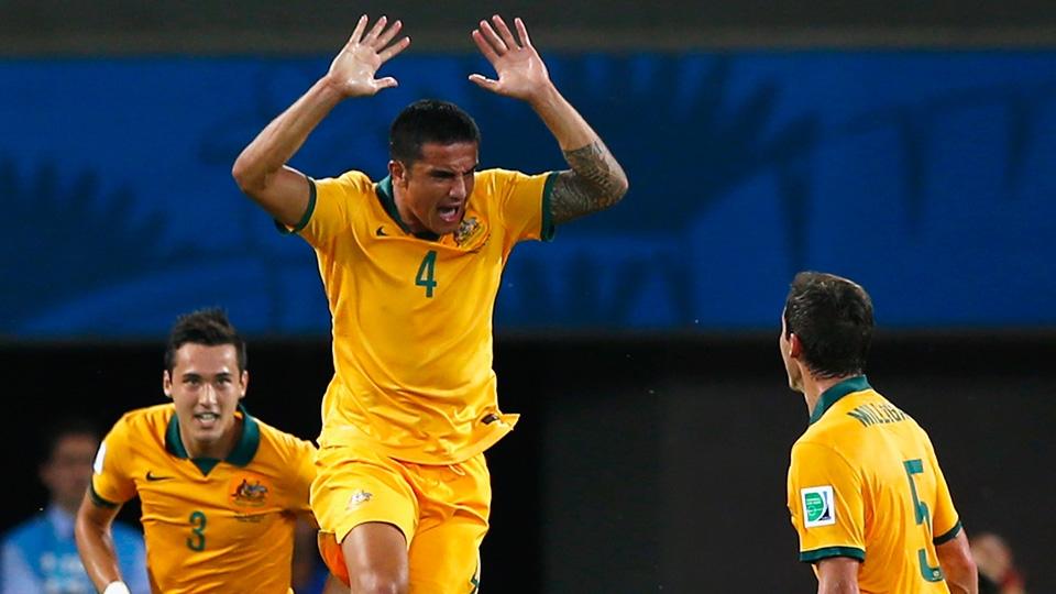 A Austrália agora joga pela Ásia, mas Cahill é o maior artilheiro de um país da Oceania: 4 gols