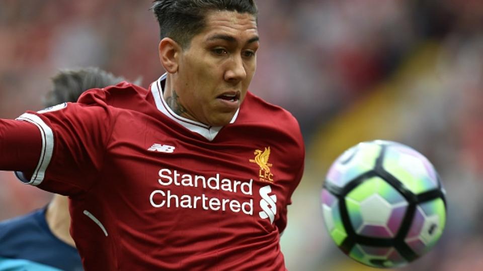 96º: Roberto Firmino (atacante), do Liverpool