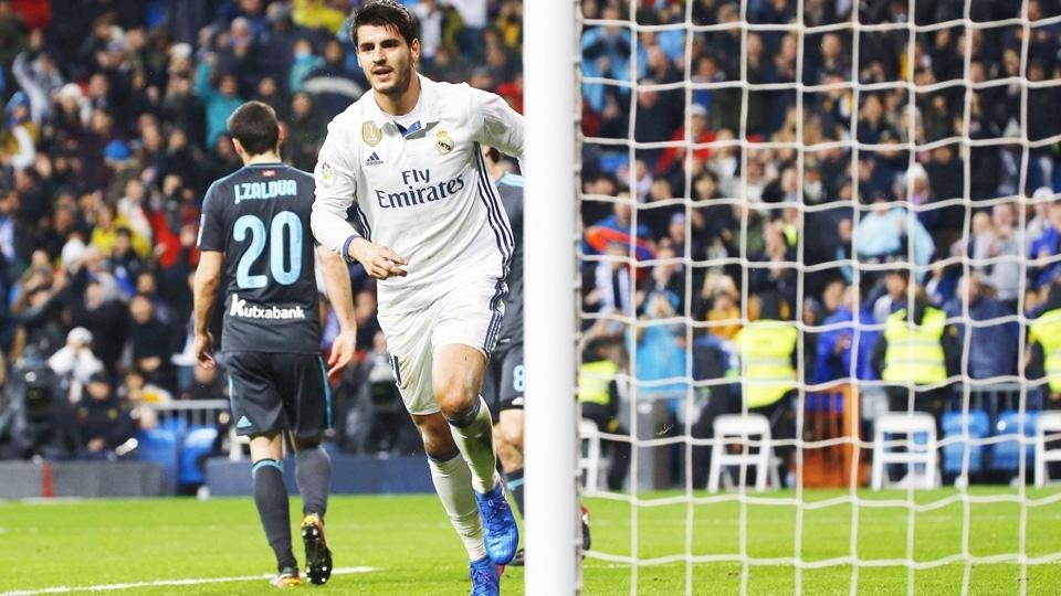 Álvaro Morata - Real Madrid (30 milhões de euros): Ainda que seja reserva de Benzema, o atacante é muito utilizado e corresponde: 36 jogos e 17 gols