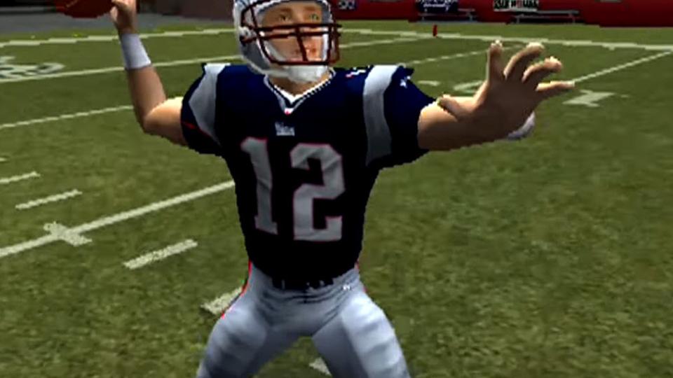 Em Madden 2004, Brady alcança a cada dos '90' pontos pela primeira vez.