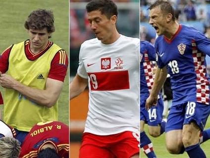 Assista aos gols de Llorente, Lewandowski e Olic