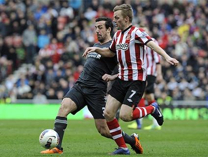 Clique no player para ver o gol da vitória do Sunderland!