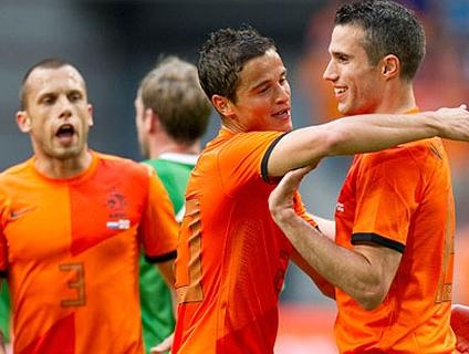 Clique no player e veja a goleada da Holanda