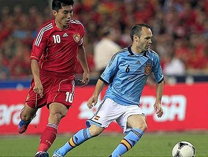 Clique no player e veja como foi a vitória da Espanha